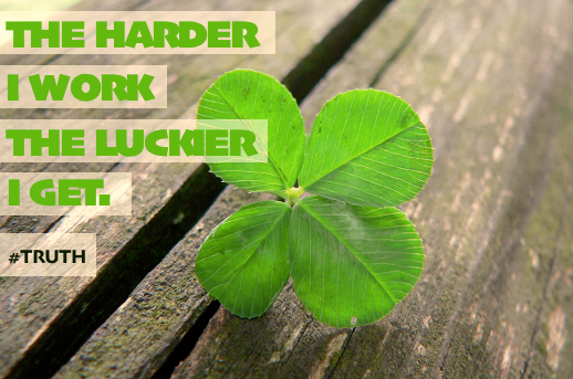 Tenacious Tuesday: Luck???