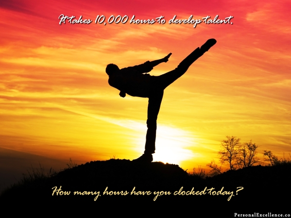 Fierce Friday: Are You Clocking Part of Your 10,000 Hours Today?